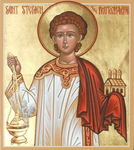 Icon of St. Stephen.